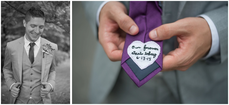 21-wedding-purple-tie-heart-our-forever-starts-here