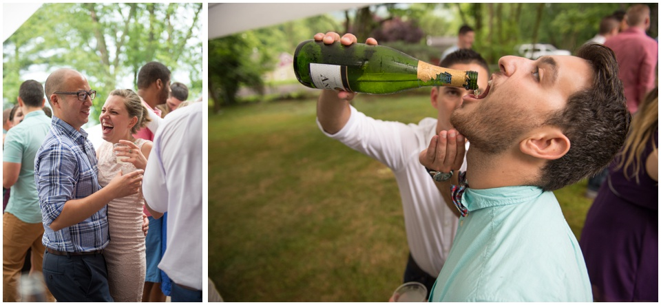 42-cheers-dance-backyard-wedding-morgantown-wv