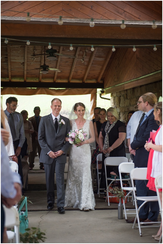 12-Lamberts-Winery-Wedding-Brother-Walking-Down-Aisle