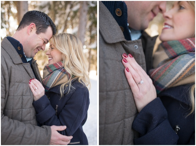 Morgantown-Snowy-Engagement-session