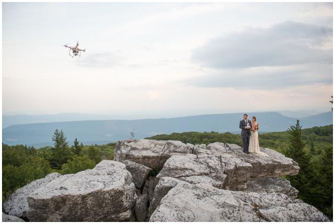 035-Dolly-Sods-Wedding-Elopement-Bear-Rocks-Drone