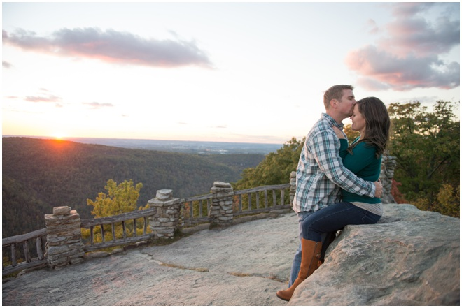11-Coopers-Rock-Sunset-Engagement-Session