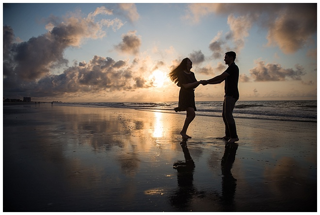 052aae8013c1a Myrtle Beach Sunrise Engagement Session